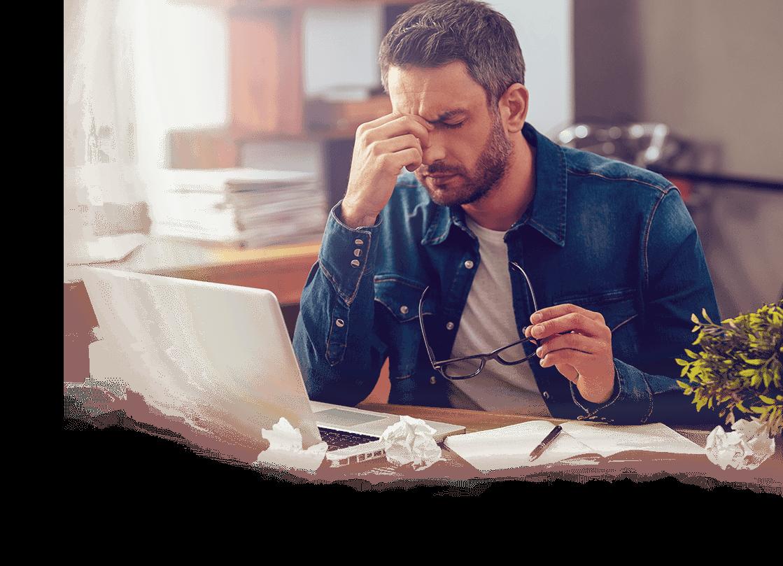 Dores de cabeça causadas por estresse